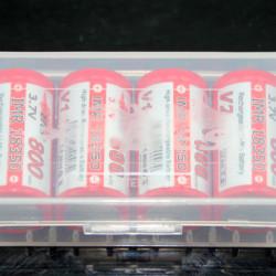 Efest 2 x 18650 Battery Case (4 x 18350)
