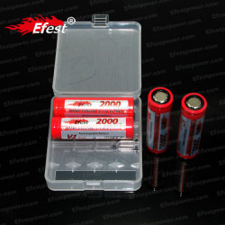 Efest 4 x 18650 Battery Case